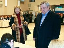 Доходы семьи губернатора Ростовской области за 2017 год снизились