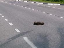 На подъезде к Ростову ограничили движение из-за недоделанной дороги