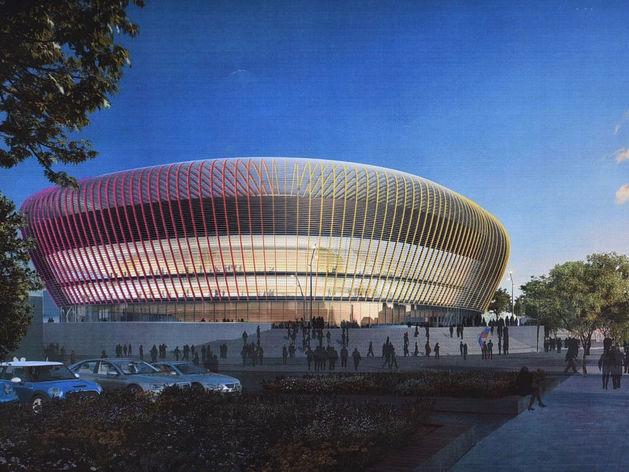 Как будет выглядеть ледовая арена УГМК изнутри? Застройщик показал эскизы