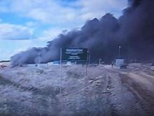 «Предпосылка острого конфликта». Ущерб от пожара на свалке в Полетаево достиг 25 млн руб.