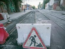 Власти Ростова не успели завершить реконструкцию улицы Станиславского в срок ФОТОРЕПОРТАЖ