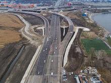 На Дону завершили первый этап реконструкции Южного подъезда к Ростову