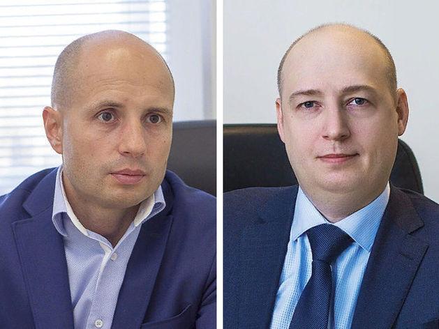 Слева направо: Дмитрий Мазеин, Денис Базин