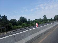Часть Северного объезда закрыли для проезда, а въезд в город расширили