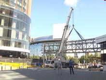 Башню «Исеть» и отель «Хаятт» соединит навесной мост