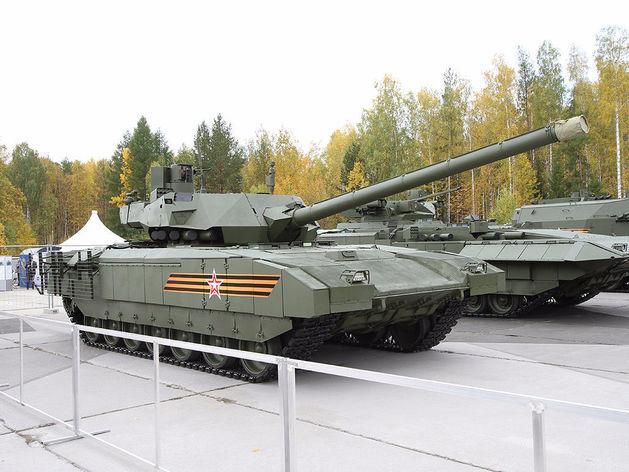 «Армата» оказалась слишком дорогой для российских вооруженных сил