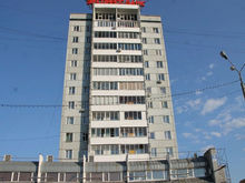 На одной из высоток на Предмостной в Красноярске ко Дню города сделают подсветку