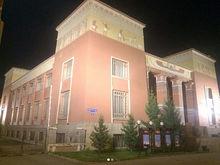 В Красноярске протестировали подсветку Краеведческого музея