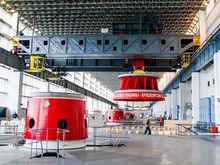 На Красноярской ГЭС началась реконструкция гидроагрегата № 5