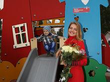 Наталья Водянова открыла в Нижнем Новгороде инклюзивный детский игровой парк