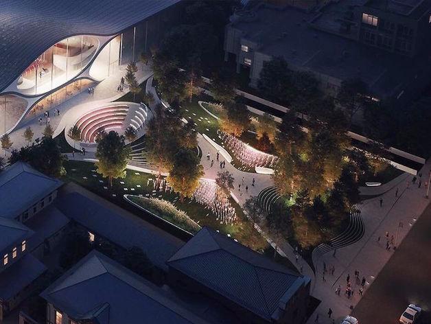 Новое здание Свердловской филармонии построят по проекту архитектурного бюро Захи Хадид
