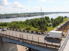 Реверсивное автодвижение введут октябре в районе Нижегородской ГЭС из-за ремонта моста