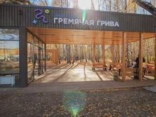 В Красноярске появилось еще одно общественное пространство — «Гремячая грива»