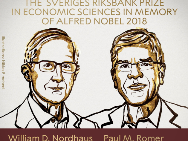 Как климат и инновации влияют на рост? Объявлены лауреаты Нобелевской премии по экономике