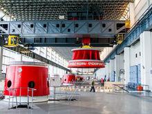 На Красноярской ГЭС демонтировали старое колесо на гидроагрегате №5