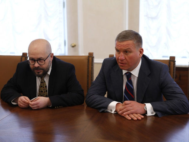 Алексей Бобров и Артем Биков