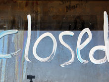 В центре Новосибирска закрылся бар после двух лет работы