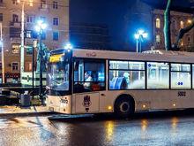 Ростовские власти начнут контролировать автобусы в вечернее время
