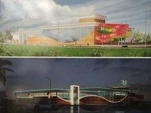 «На картинку не смотрите»: челябинцам представили проект будущего ТК с аквапарком