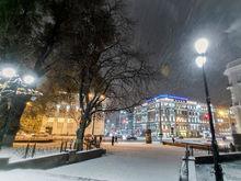 На выходных в Ростове снова пойдет снег