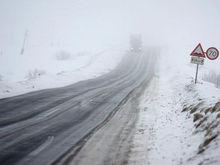 В Ростовской области прогнозируют ледяной дождь и гололедицу