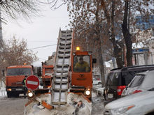 Снежный коллапс. Екатеринбург снова встал в пробки