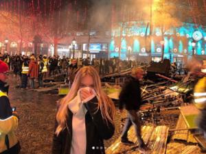 «Круто, что народ может выразить недовольство». Дочь Пескова — о протестах в Париже