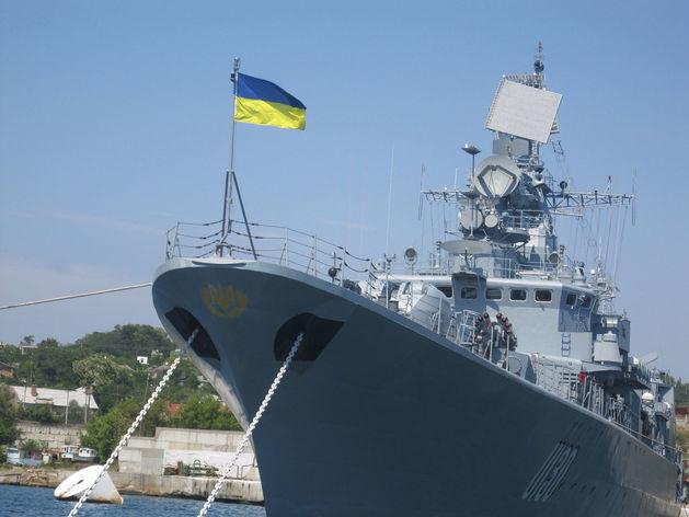 Флагман ВМС Украины «Гетьман Сагайдачний». Архивное фото
