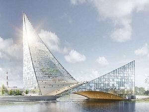 Московские эксперты изменили проект конгресс-холла «Крылья» на реке Миасс