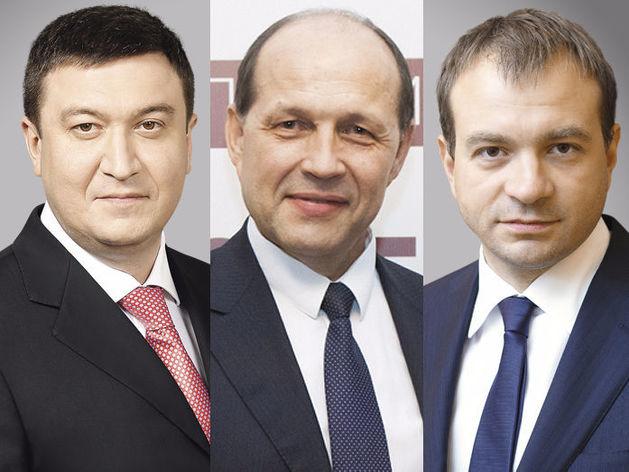 Тимур Уфимцев, Михаил Волков, Вячеслав Трапезников