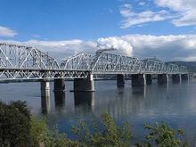 Железнодорожный мост через Енисей в Красноярске станет светящимся