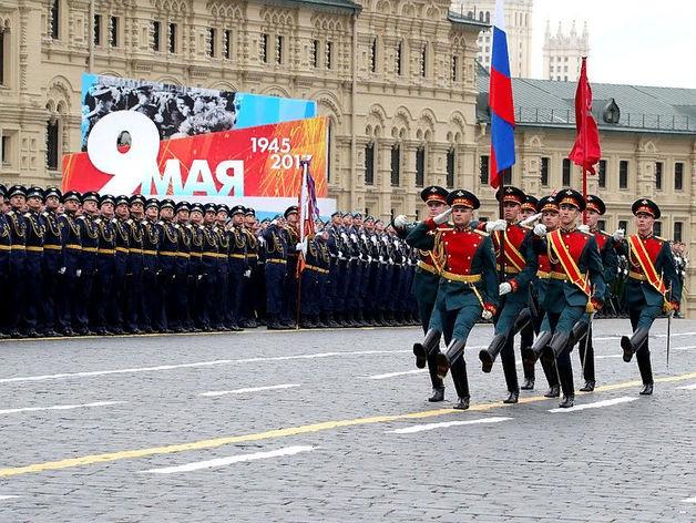 Парад на Красной площади 9 мая