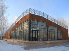 Презентован визит-центр Универсиады на острове Татышев в Красноярске