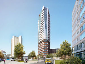УГМК превратит высотку-призрак на набережной в башню с апартаментами. Новые подробности