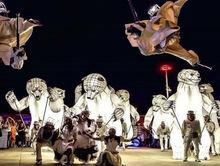 По центру Красноярска пройдут гигантские медведи и цирковые артисты