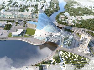 В Челябинске мэр Елистратов поручил дать адрес конгресс-холлу на реке Миасс