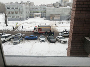 Возле нижегородской школы открыли стрельбу