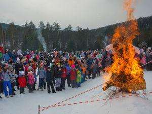 Центр активного отдыха «Евразия» 8 и 9 марта приглашает на празднование масленицы