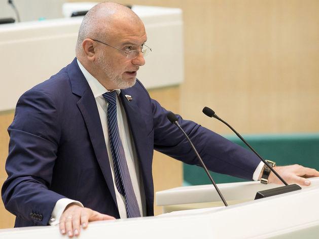 Андрей Клишас, соавтор принятых законопроектов