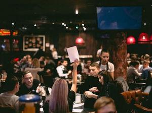 Очередной квиз для предпринимателей «Мозги в дело» пройдет 28 марта в ресторане Clocks