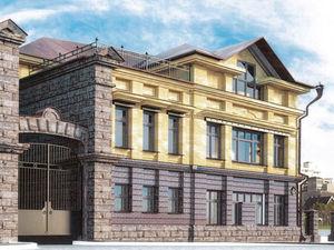 В центре Челябинска предприниматель строит к ШОС стилизованный «под старину» особняк
