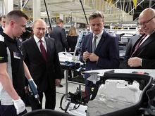Mercedes открыл завод в России. Это первое иностранное автопроизводство за пять лет