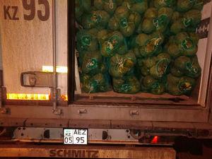 «Забыли свеклу»: на границе Челябинской области развернули 40 тонн овощей из Казахстана