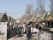 На площади Горького открылась фермерская ярмарка «Весенний дар»