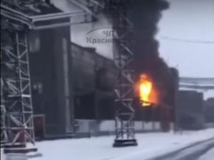 «Это флешмоб какой-то?» В Красноярске произошел пожар на КРАЗе