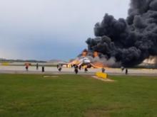 Пожар на борту самолета «Аэрофлота» в Москве. Погиб 41 человек