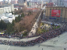 Какие улицы станут пешеходными в Новосибирске 9 Мая?