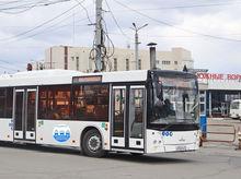 В Челябинске начали тестировать новые автобусы на газе