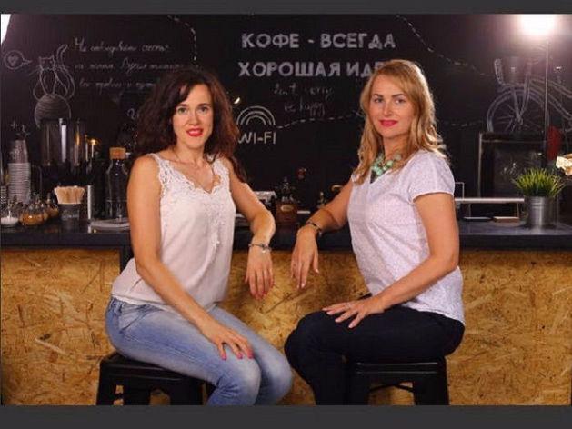 Александра Сомина и Анна Мельник