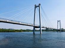 Велосипедное движение по Вантовому мосту в Красноярске не запретят